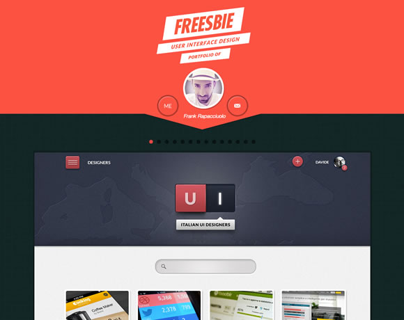 freesbie.it : Single Page Website