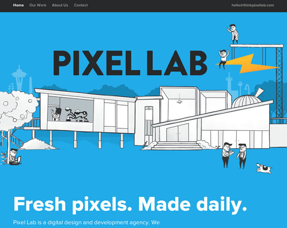 thinkpixellab.com : One Page Websites