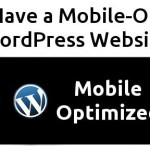Mobile-Optimized WordPress Website